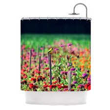 Live in The Sunshine Polyester Shower Curtain