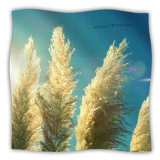 Ornamental Grass Microfiber Fleece Throw Blanket