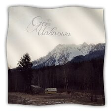 Go into The Unknown Microfiber Fleece Throw Blanket