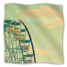 Ferris Wheel Microfiber Fleece Throw Blanket
