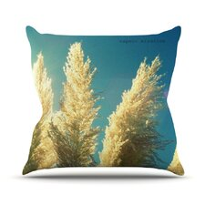 Ornamental Grass Throw Pillow