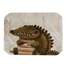 Smiley Crocodiley Placemat