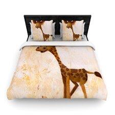Georgey The Giraffe Duvet Cover