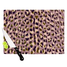 Leopard Print Cutting Board