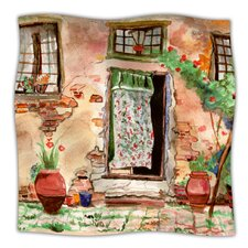 Tuscan Door Microfiber Fleece Throw Blanket