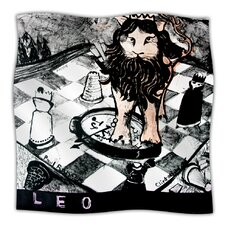 King Leo Microfiber Fleece Throw Blanket