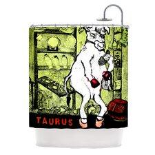 Taurus Polyester Shower Curtain