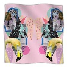 Flamingo Tropical Microfiber Fleece Throw Blanket
