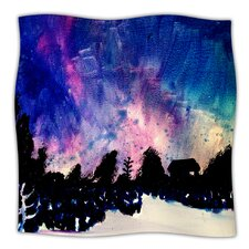 First Snow Microfiber Fleece Throw Blanket