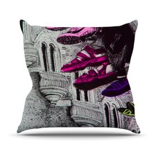 Shoes in SF Throw Pillow