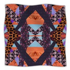 Pillow Kaleidoscopic Microfiber Fleece Throw Blanket