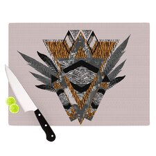 Indian Feather Cutting Board