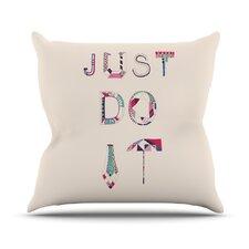 Just Do It Throw Pillow