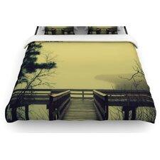"""""""Fog on the River"""" Woven Comforter Duvet Cover"""