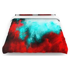 """Painted Clouds III"" Woven Comforter Duvet Cover"