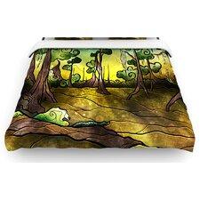 """""""Aligator Swamp"""" Woven Comforter Duvet Cover"""