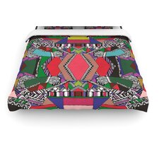 """African Motif"" Woven Comforter Duvet Cover"