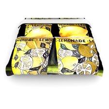 """""""Lemonade"""" Woven Comforter Duvet Cover"""