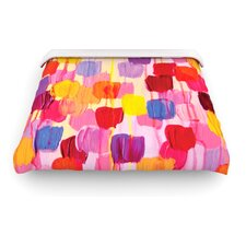 """Dotty in Pink"" Woven Comforter Duvet Cover"