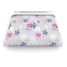 """""""Lively Blossoms"""" Woven Comforter Duvet Cover"""