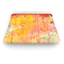 """""""Sun Showers"""" Woven Comforter Duvet Cover"""