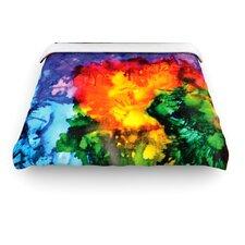 """Karma"" Rainbow Paint Woven Comforter Duvet Cover"