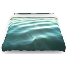 """""""Seawater"""" Woven Comforter Duvet Cover"""