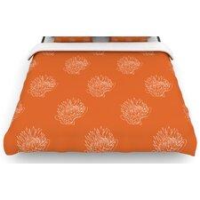 """""""Simply Protea"""" Woven Comforter Duvet Cover"""