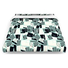 """Vacation Days Chess"" Woven Comforter Duvet Cover"