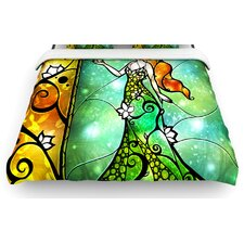 """Fairy Tale Frog Prince"" Woven Comforter Duvet Cover"