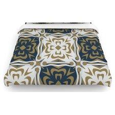 """Contemporary Granny"" Woven Comforter Duvet Cover"