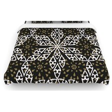 """""""Ethnical Snowflakes"""" Woven Comforter Duvet Cover"""