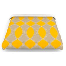 """Geometries in Yellow"" Bedding Collection"