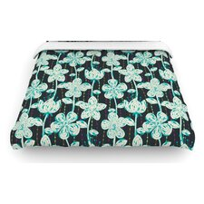 """My Grey Spotted Flowers"" Woven Comforter Duvet Cover"