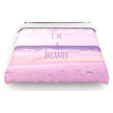 """I'm a Dreamer"" Beach Woven Comforter Duvet Cover"
