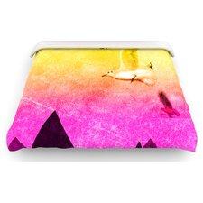 """""""Seagulls in Shiny Sky"""" Woven Comforter Duvet Cover"""