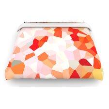 """""""Oooh La La"""" Pixel Woven Comforter Duvet Cover"""