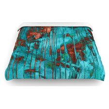 """Rusty Teal"" Paint Woven Comforter Duvet Cover"