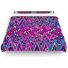 """""""Electric Chevron"""" Woven Comforter Duvet Cover"""