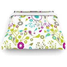 """Bird Fantasy"" Woven Comforter Duvet Cover"