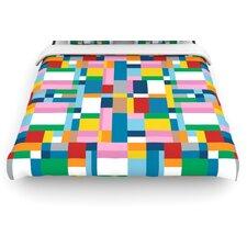 """""""Map"""" Woven Comforter Duvet Cover"""