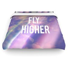 """Fly Higher"" Woven Comforter Duvet Cover"