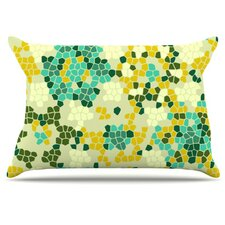 Flower Garden Mosaic Pillowcase