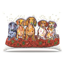 Maksim Murray Enzo Ruby and Willy Pillowcase