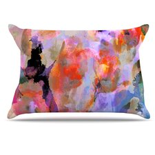 Painterly Blush Pillowcase