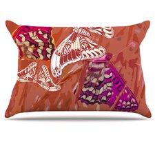 Butterflies Party Fleece Pillow Case