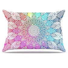 Rainbow Dots Pillowcase
