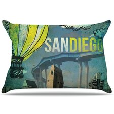 San Diego Pillowcase