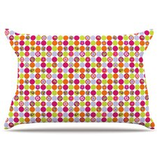 Happy Circles Pillowcase