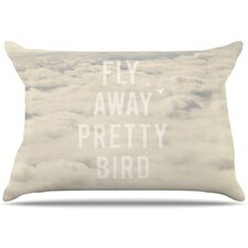 Fly Away Pretty Bird Pillowcase